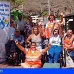 """Cruz Roja continúa en La Palma el proyecto """"Ocio y Tiempo Libre para Personas con Diversidad Funcional"""""""
