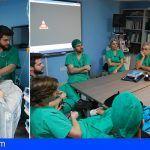 Simulación de anestesiólogos del HUC para poner a prueba la destreza en casos críticos