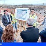 El Cabildo construye en Arico un depósito de agua desalada para el abastecimiento urbano del litoral