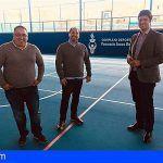 Finalizan los trabajos de la pista polideportiva del «Pancracio Socas García» en Santiago del Teide