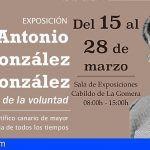 Exposición en La Gomera sobre la vida del científico canario Antonio González González
