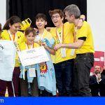 Los equipos tinerfeños Aldeatron Robotix y Cintegra triunfan en la First Lego League