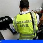 La Guardia Civil detiene a un hombre acusado de cinco robos con fuerza en La Palma