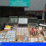 La Guardia Civil detiene a dos jóvenes por numerosos robos en Icod de los Vinos