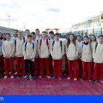 Éxito de los jóvenes deportistas gomeros en los primeros campeonatos regionales del año