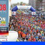 Última dos semana para inscribirse anticipadamente en el Medio Maratón de Las Galletas 2018