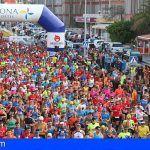 Última semana para inscribirse en el Medio Maratón de Las Galletas 2018