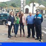 La concejala de Servicios Sociales de Santiago del Teide realiza una visita al municipio de Tegueste