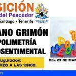 Inauguración de la exposición de las obras de Chano Grimón en el Museo del Pescador