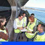 El Cabildo avanza en la mejora del peatonal costero que une Puerto de la Cruz con La Orotava