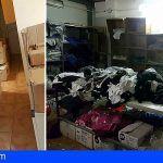 Falsificaba prendas de vestir en un trastero en los bajos de un edificio en Los Cristianos