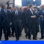 El presidente del Gobierno inaugura el nuevo puerto de Granadilla
