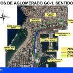 El reasfaltado de la Avenida Marítima de Las Palmas comienzan el lunes