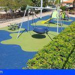 Renuevan los parques infantiles de playa de La Arena y construyen un nuevo parque Street Workout