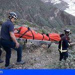Bomberos de Tenerife rescatan a un senderista en Benijo