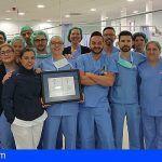 San Juan de Dios Tenerife renueva su certificación de Calidad