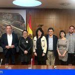 La concejala de Turismo de Santiago del Teide asiste a una reunión con la Secretaria de Estado de Turismo