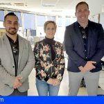 El presidente de la Asociación de salvamento y rescate visitó el Centro de Coordinación de Salvamento de Tenerife