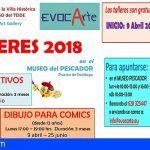 3 talleres gratuitos en Santiago del Teide para aficionados/as de las artes plásticas