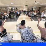 Tenerife Sur da la bienvenida a los pasajeros del primer vuelo procedente de Tel Aviv