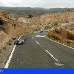 Un ciclista fallecido y un motorista herido grave tras colisionar frontalmente en Granadilla