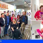 Mercedes Menéndez y Laly González muestran la historia del Carnaval de Los Cristianos en imágenes