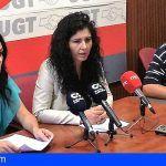 UGT denuncia el clima de acoso que Grúas Sur Arona-Adeje ha impuesto a sus trabajadores