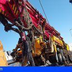 Empieza el traslado del material extraído de Gran Tarajal en Fuerteventura