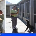 El Centro de Acogida de Animales Domésticos de Adeje es visitado por la diputada Natividad Arnaiz Martínez