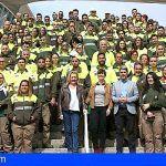 El Cabildo contrata a 120 trabajadores para  mejorar la imagen de las zonas turísticas de Tenerife