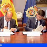 La Policía Nacional y la AFE firman un acuerdo para perseguir el fraude en el fútbol nacional