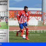 «Un gol del tinerfeño Amorín hace soñar al Deportivo» CD Don Benito 1-0 CD Diocesano