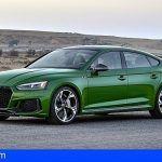 Diseño elegante y altas prestaciones: el nuevo Audi RS 5 Sportback