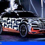 Ultra-alto voltaje: el Audi e-tron prototype en una jaula de Faraday