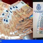 Billetes falsos procedentes de Italia