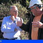 Realizan en La Gomera trabajos de conservación y prevención de incendios en las zonas periféricas al Parque Nacional