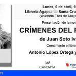 «Crimenes del futuro» de Juan Soto Ivars se presenta en Santa Cruz