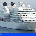 Más de 26.000 cruceristas dejarán esta semana en Santa Cruz 1,3 millones de euros