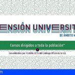 Santiago del Teide y la Universidad de La Laguna ofrecen 2 cursos de formación en el municipio