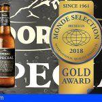 Dorada Especial recibe su novena medalla de oro en el certamen World Quality Selections 2018