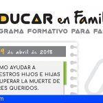 """Comienza en Santiago del Teide el programa formativo para familias """"Educar en Familia"""""""