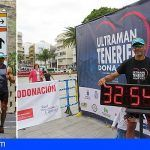 El ultra-triatleta Fran Trujillo culmina en Granadilla el Ultraman Tenerife Dona Vida