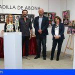 Las pinturas y esculturas de LJ-Llamas llegan a Granadilla de Abona