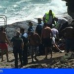 Fallece un bañista sueco de 26 años y otro desaparecido en la zona de El Pris, en Adeje