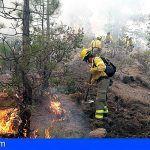 Se ha conseguido ya acceder a todo el perímetro del incendio aunque todavía no está estabilizado