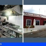 Bomberos de Tenerife extinguen un incendio en un restaurante en Arafo