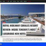 Independent elige a Royal Hideaway Corales Resort en Adeje como 'Mejor Nuevo Hotel de Lujo' de Tenerife