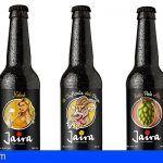 La empresa grancanaria Jaira lanza la primera cerveza de agua de nube atlántica
