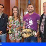 El Ayuntamiento recibe a los sanmiguleros campeones del mundo de Kickboxing y Muay Thai
