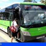 TITSA incrementa más del doble los viajes de la línea 110 y modifica la 451